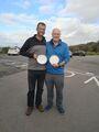 Andrew Roy and James Windebank Handicap Champions